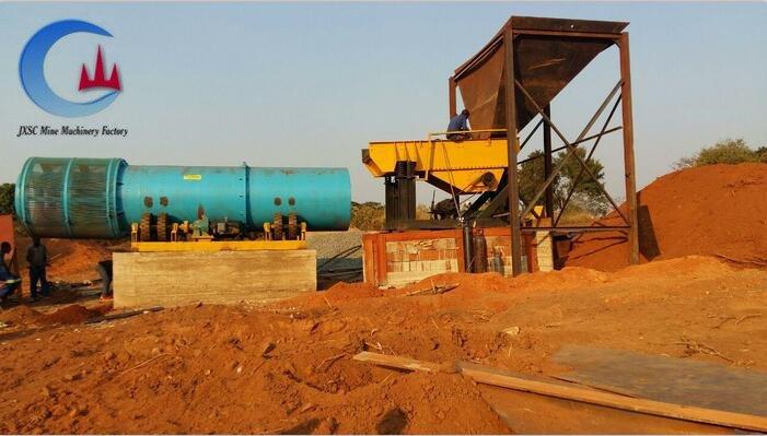 Производственная линия по добыче аллювиального золота от JXSC Mine Machinery