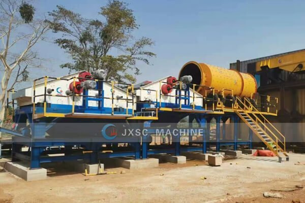 200tph alluvial gold washing plant for sale