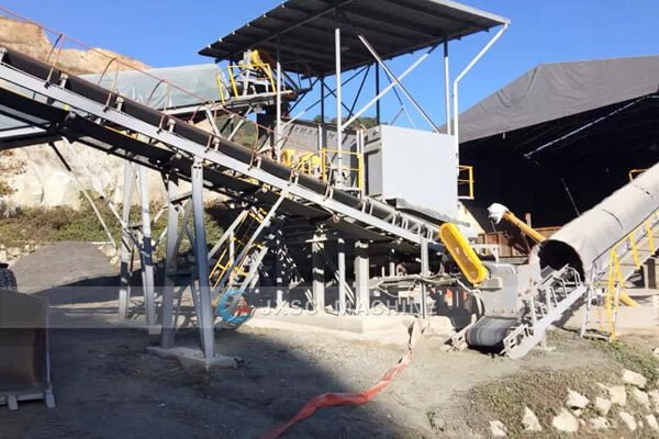 350Ttph tungsten mining and processing plant