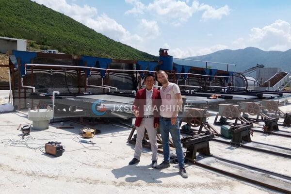 Завод по обогащению хрома мощностью 5 т / ч от ао албания