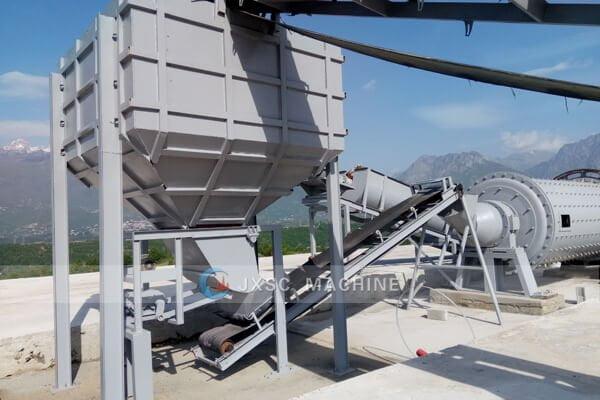 Albania 5tph chrome beneficiation plant