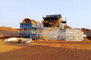 Australia 250tph Ilmenite processing plant on site