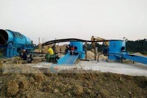 Ghana 100tph alluvial gold Processing plant