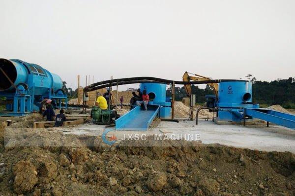 Гана Завод по переработке россыпного золота 100 т / ч