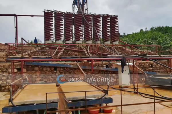 Завод по обогащению тантала в руанде 100thp