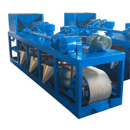 Three Disc Dry Magnetic Separator