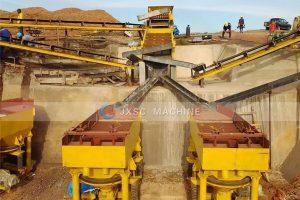 Uganda 100tph alluvila coltan processing plant
