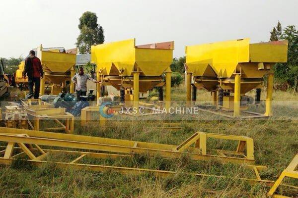 Уганда 100т / час установка по переработке аллувила колтана на продажу