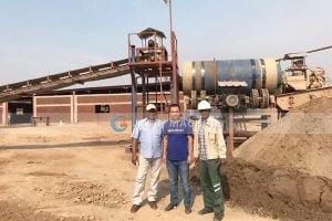 Zambia 100tph copper processing plant