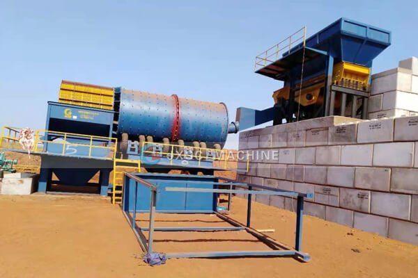 Australia 250tph Ilmenite processing plant from jxsc