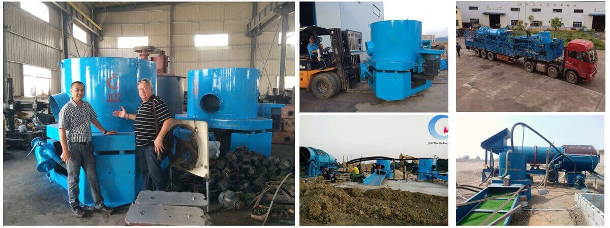 gold concentrator for gold separator