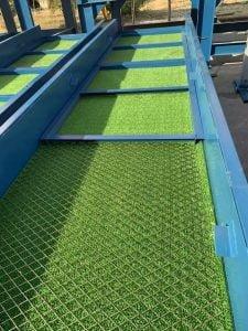 шлюзовые коврики травяного типа