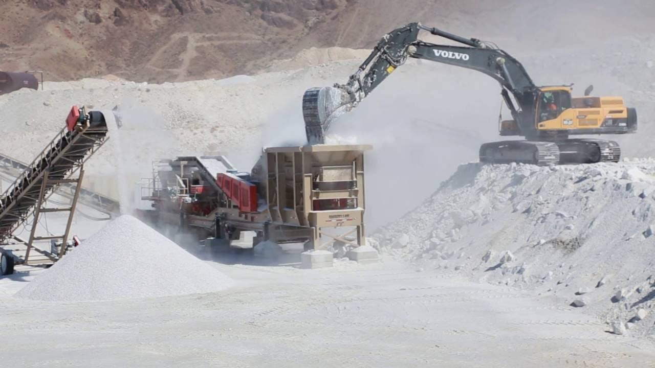 sypsum stone mining