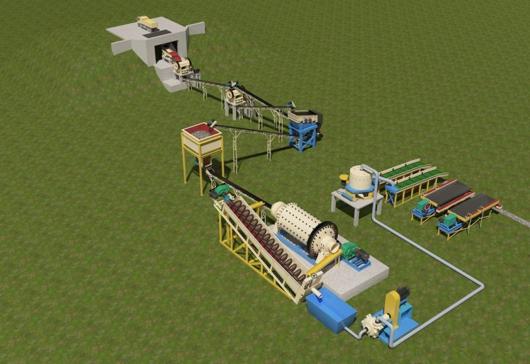 hardrock gold mining solution by jxsc mining machinery