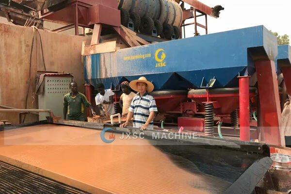 завод по переработке колтана jxsc 100tph для продажи