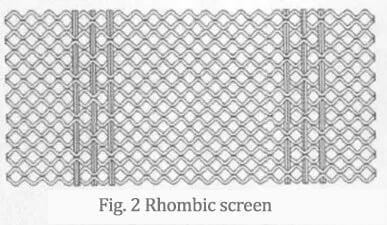 ромбический экран