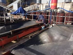 shaker table for copper ore