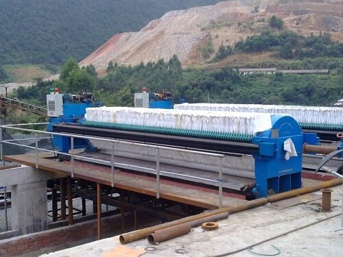 tailings processing