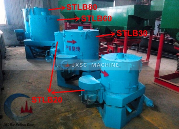 typs of gold concentrator